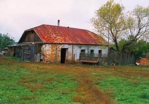 Дом в селе Себино Тульской области, в котором родилась блаженная Матронушка