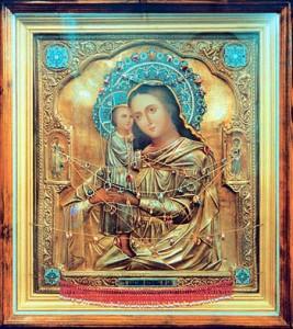 «Взыскание погибших». Икона, купленная блаженной Матроной для храма села Себино. В настоящее время находится в Успенском мужском монастыре г. Новомосковска Тульской области