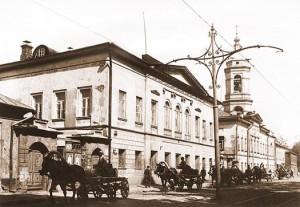 Москва. Николоямская (Ульяновская) улица. На этой улице, в доме священника о. Василия, жила блаженная Матрона